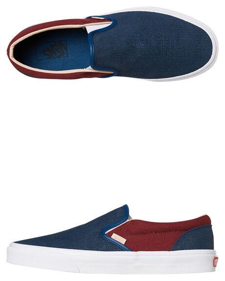 cfcf7c4c910c15 Vans Mens Classic Slip On Shoe - Sailor Blue
