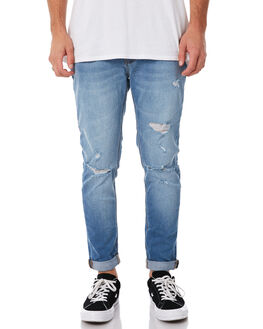 CHALK INDIGO MENS CLOTHING A.BRAND JEANS - 808922613