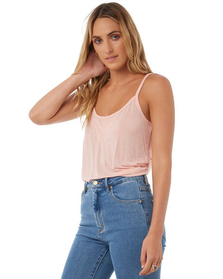 BLUSH WOMENS CLOTHING SWELL SINGLETS - S8174273BLUSH