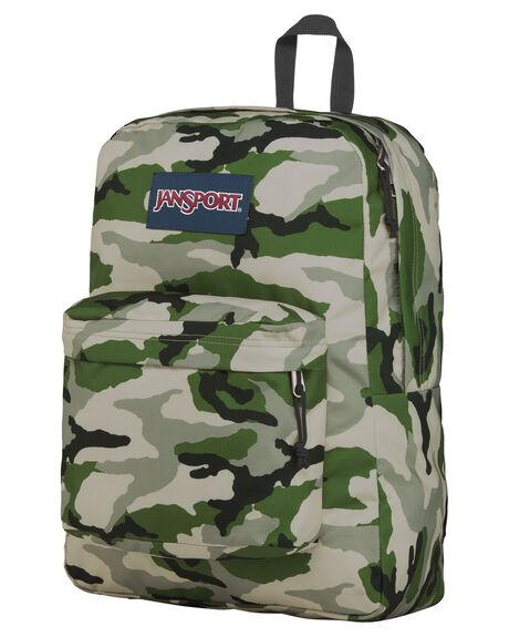 CLASSIC CAMO KIDS BOYS JANSPORT BAGS + BACKPACKS - JS0A4QUTJS77R
