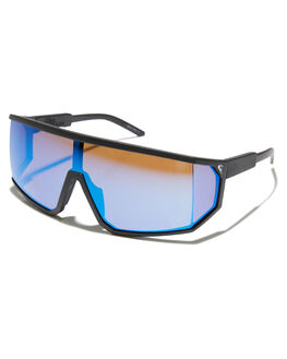 MATTE BLACK ML BLUE MENS ACCESSORIES QUIKSILVER SUNGLASSES - EQYEY03079XKKB