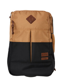 BLACK TAN MENS ACCESSORIES RIP CURL BAGS + BACKPACKS - BTRHO15140