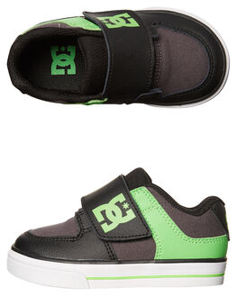 GREEN GREY KIDS TODDLER BOYS DC SHOES FOOTWEAR - ADTS300022XGSW
