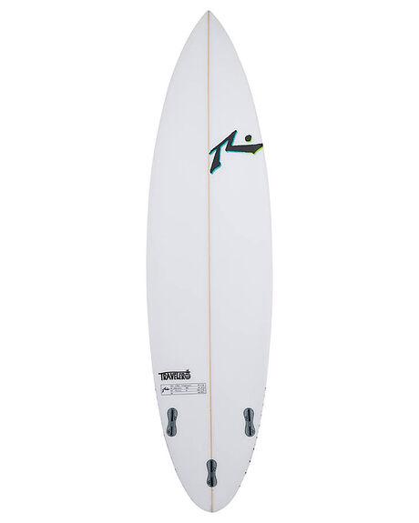 CLEAR BOARDSPORTS SURF RUSTY PERFORMANCE - RUTRAVELERCLR
