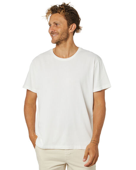 WHITE MENS CLOTHING ACADEMY BRAND TEES - 21S440WHT