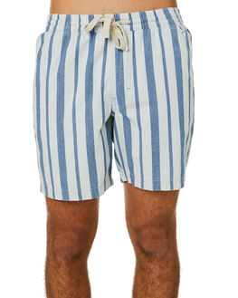 SMOKE BLUE MENS CLOTHING BANKS SHORTS - WSE0005SMB