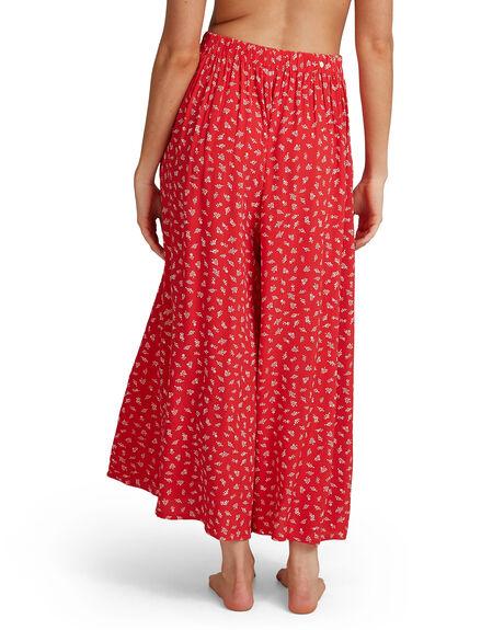 FIESTA RED WOMENS CLOTHING BILLABONG SKIRTS - BB-6504448-FTR