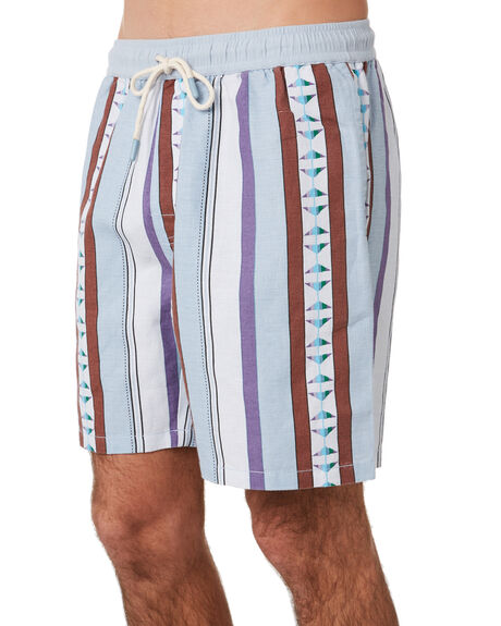 GREY MENS CLOTHING NO NEWS BOARDSHORTS - N5201232GREY