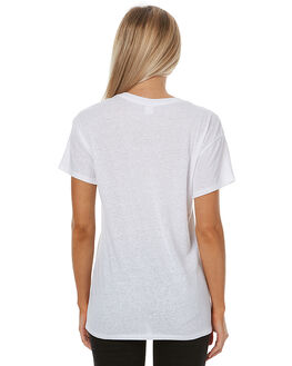 WHITE WOMENS CLOTHING SWELL TEES - S8173001WHT