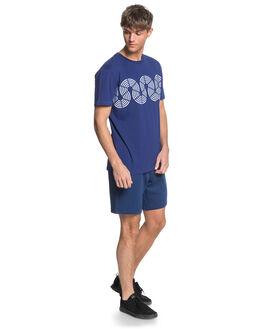 TOKOLO INDIGO MENS CLOTHING QUIKSILVER TEES - EQYKT04015-BTA0