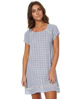 BLUE WOMENS CLOTHING RIP CURL DRESSES - GDRES1BLU