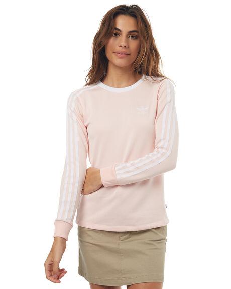 c90926a5026 Adidas Originals 3Stripes Ls Tee - Icey Pink