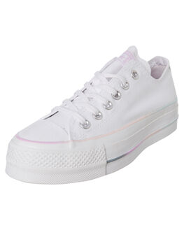 WHITE GRADIENT WOMENS FOOTWEAR CONVERSE SNEAKERS - 566355CWHT