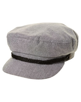 GREY CHAMBRAY MENS ACCESSORIES BRIXTON HEADWEAR - 00004GYCH
