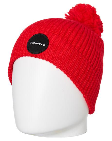 RED WOMENS ACCESSORIES RPM HEADWEAR - 9WAC03A8RED