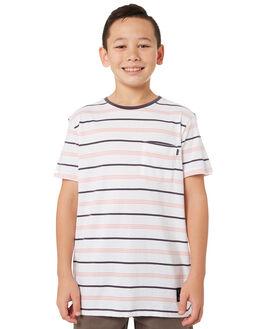 WHITE KIDS BOYS ST GOLIATH TOPS - 2421005WHT