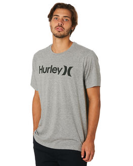 GREY HEATHER MENS CLOTHING HURLEY TEES - AH7935064
