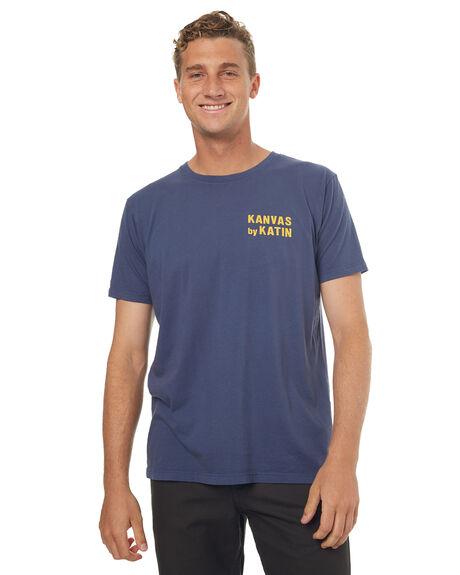 NAVY MENS CLOTHING KATIN TEES - TSSSWOR17NVY