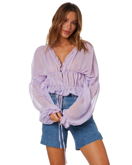 LAVENDER WOMENS CLOTHING SNDYS FASHION TOPS - SFT110SLAV