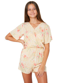 FLORIDA PRINT KIDS GIRLS EVES SISTER DRESSES + PLAYSUITS - 9541032PRNT