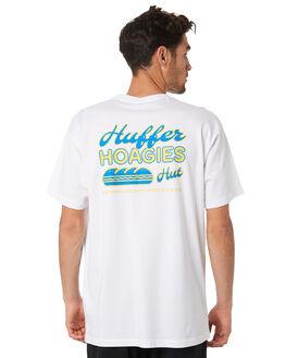 WHITE MENS CLOTHING HUFFER TEES - MTE94S40923WHT