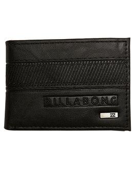 BLACK MENS ACCESSORIES BILLABONG WALLETS - 9675211ABLK