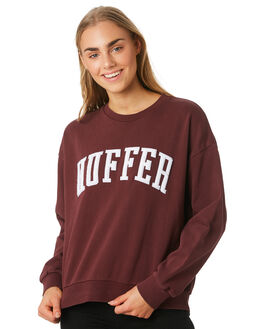 RUM WOMENS CLOTHING HUFFER JUMPERS - WCR92S47-344RUM