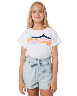 WHITE KIDS GIRLS EVES SISTER TOPS - 9540040WHT
