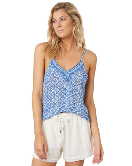 AMPARO BLUE WOMENS CLOTHING RUSTY FASHION TOPS - WSL0644ABL