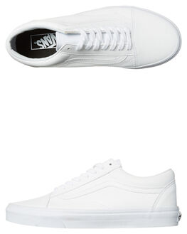 WHITE WOMENS FOOTWEAR VANS SNEAKERS - SSVN-A38G1ODJWHTW