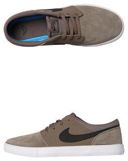RIDGEROCK BLACK MENS FOOTWEAR NIKE SKATE SHOES - SS880266-201M