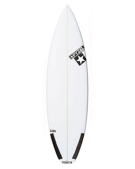 CLEAR BOARDSPORTS SURF PYZEL SURFBOARDS - PYTHEGRUNTCLR