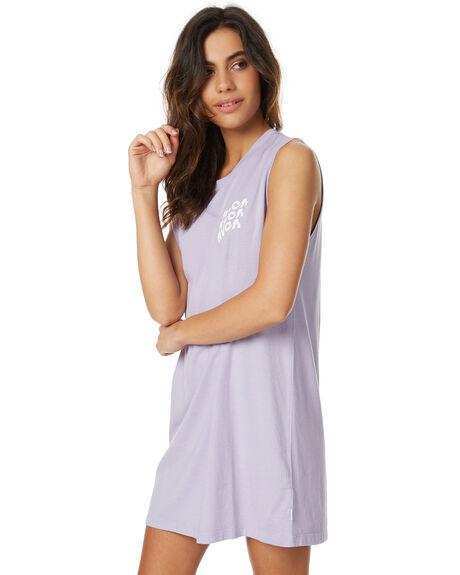 LILAC WOMENS CLOTHING RVCA DRESSES - R271759LILAC