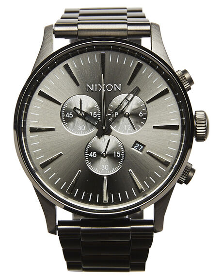 ALL GUNMETAL MENS ACCESSORIES NIXON WATCHES - A386632