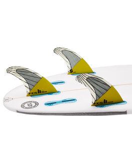 YELLOW BOARDSPORTS SURF FCS FINS - FCAR-CC02-TS-RYELL