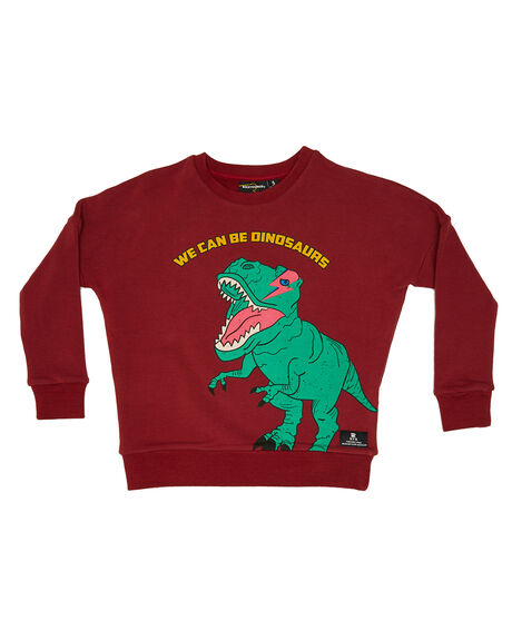 RED KIDS BOYS ROCK YOUR KID JUMPERS + JACKETS - TBH2025-WE-RED