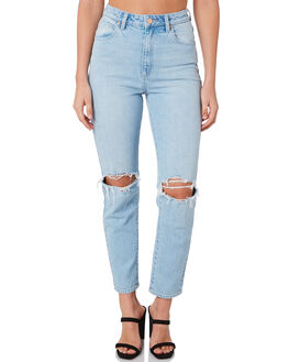 GINA RIP WOMENS CLOTHING A.BRAND JEANS - 71772B-5200