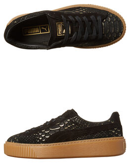 BLACK GOLD WOMENS FOOTWEAR PUMA SNEAKERS - 36337701BLK