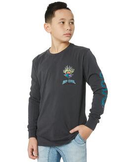 DARK GREY KIDS BOYS RIP CURL TOPS - KTEUX21221