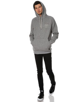 GREY HEATHER MENS CLOTHING GLOBE JUMPERS - GB01733003GHEA