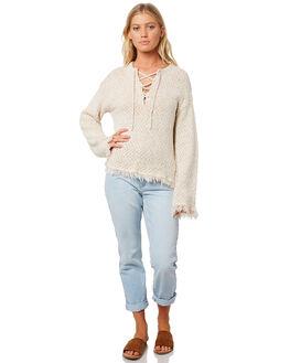 WHITE CAP WOMENS CLOTHING BILLABONG KNITS + CARDIGANS - 65957911WC