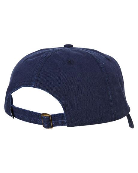 BLUE MENS ACCESSORIES STUSSY HEADWEAR - ST793010BLU