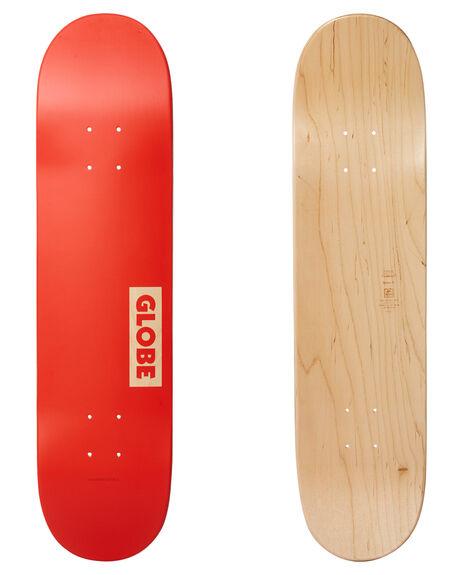 RED BOARDSPORTS SKATE GLOBE DECKS - 10025351RED
