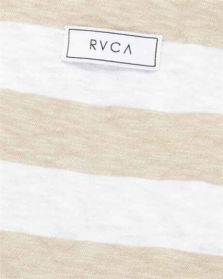 DUST YELLOW WOMENS CLOTHING RVCA SINGLETS - RV-R292662-DYL