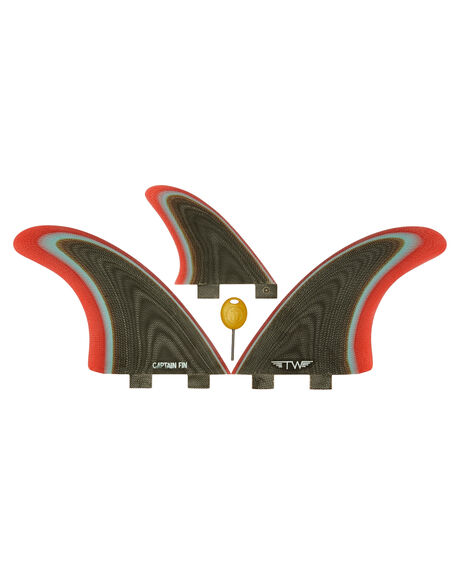 COFFEE BOARDSPORTS SURF CAPTAIN FIN CO. FINS - CFF3411703-COFCOF