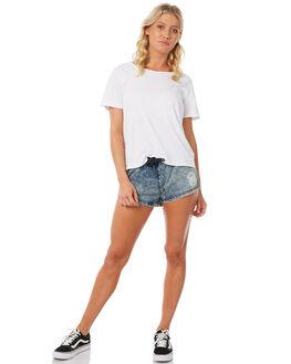 ACID DENIM WOMENS CLOTHING SANTA CRUZ SHORTS - SC-WWC7140ADEN