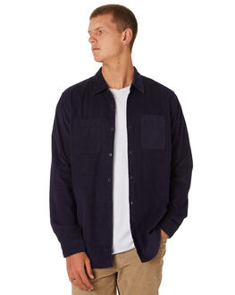 WASHED NAVY MENS CLOTHING O'NEILL SHIRTS - 521120142K