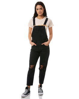 BLACK WOMENS CLOTHING INSIGHT PLAYSUITS + OVERALLS - 5000000567BLK