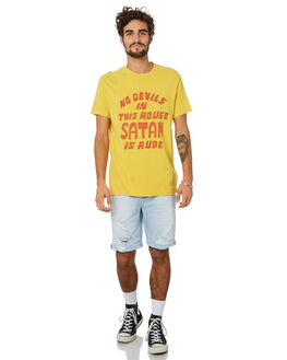 MIMOSA GOLD MENS CLOTHING DEUS EX MACHINA TEES - DMP201469MSAGD