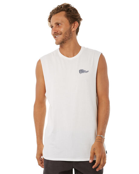 OFF WHITE OUTLET MENS SWELL SINGLETS - S5183275OFFWH